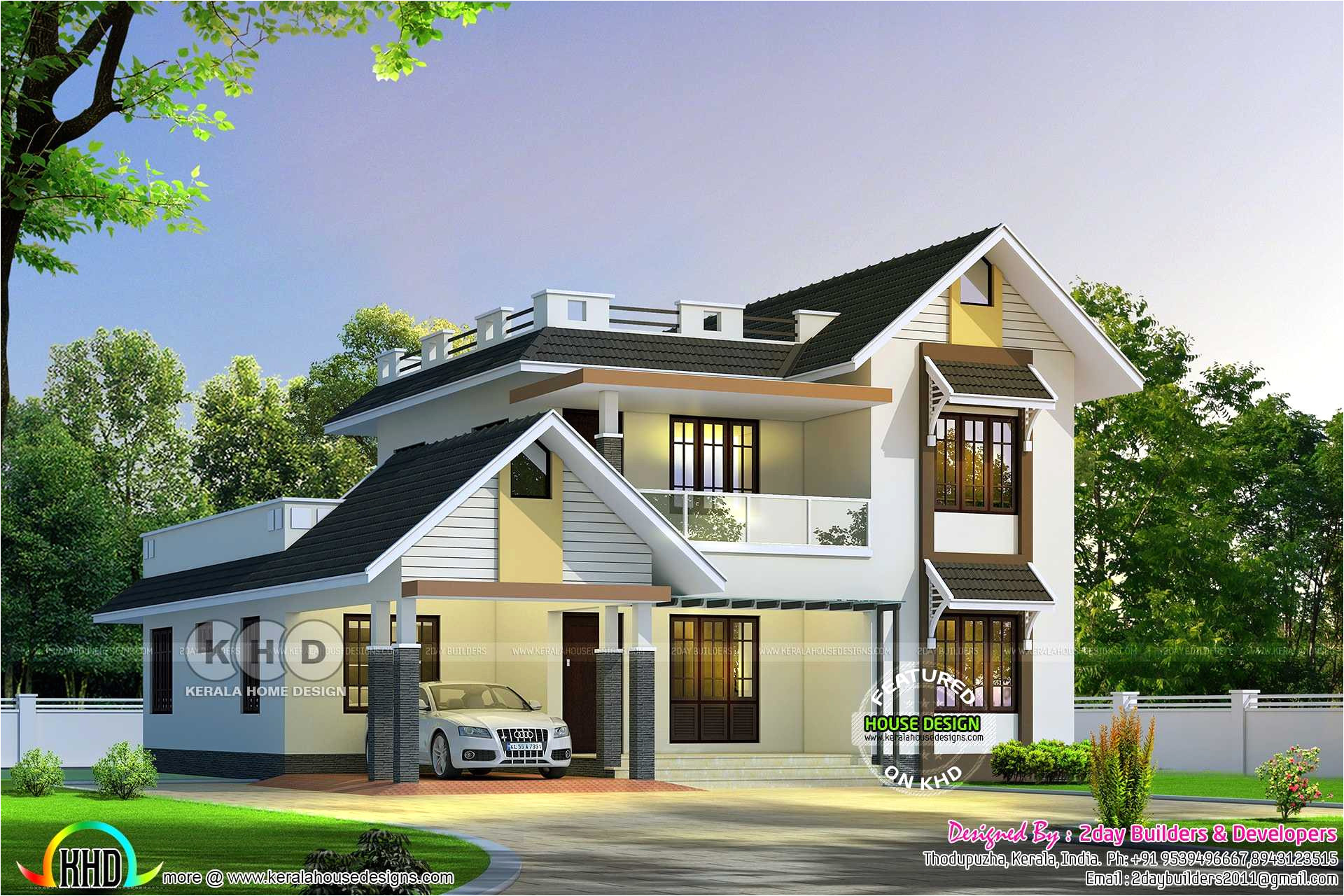 house plans with estimated cost to build in kerala
