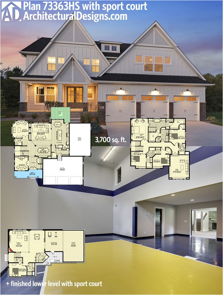 House Plans with Indoor Sport Court 1000 Images About House Plans with Sport Courts On