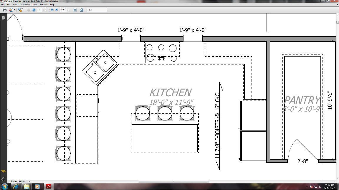 walk pantry facing kitchen which don
