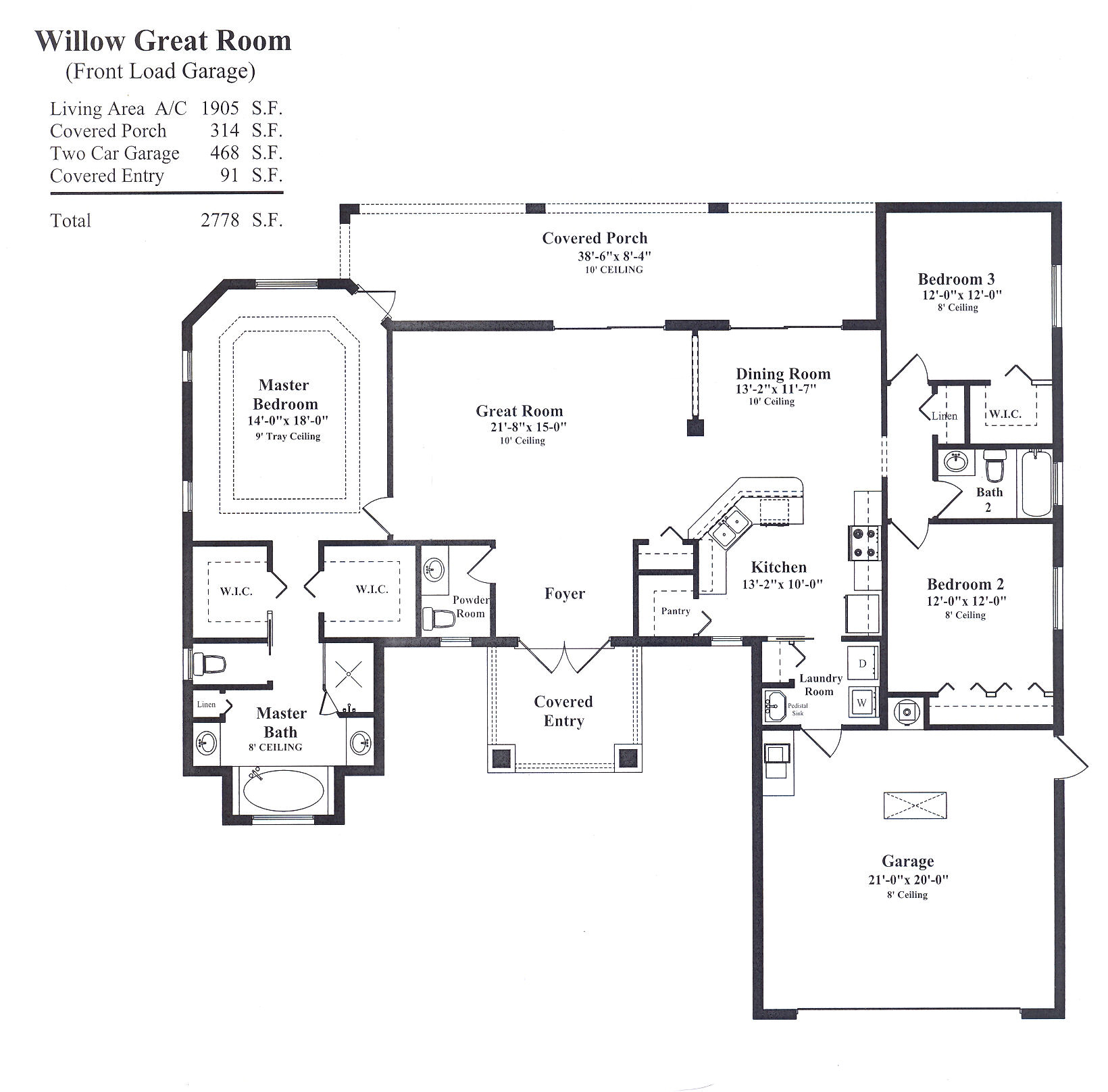 floor plans with great rooms