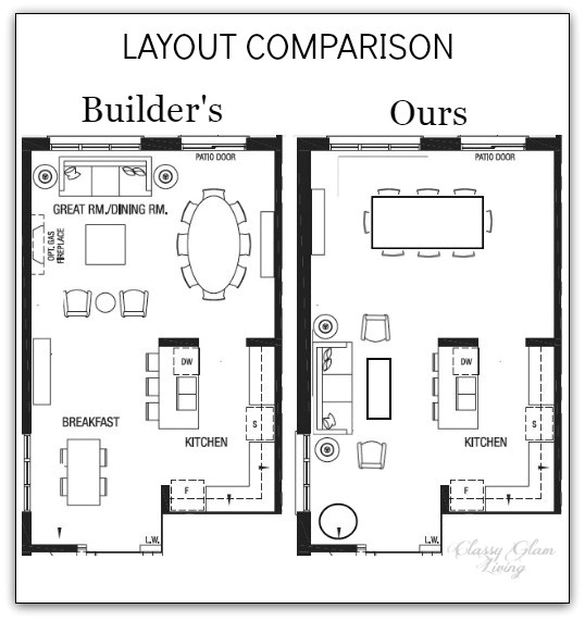 house plans with large living rooms