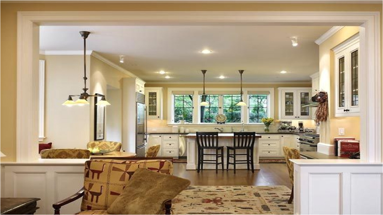 House Plans with Open Kitchen and Living Room Open Plan Kitchen Living Room Small Space