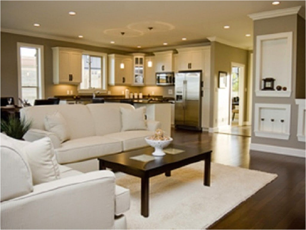 House Plans with Open Kitchen and Living Room Open Space Kitchen and Living Room Home Decorating Ideas