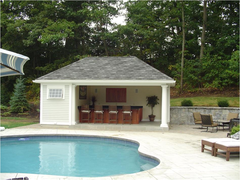 poolside bar cabana