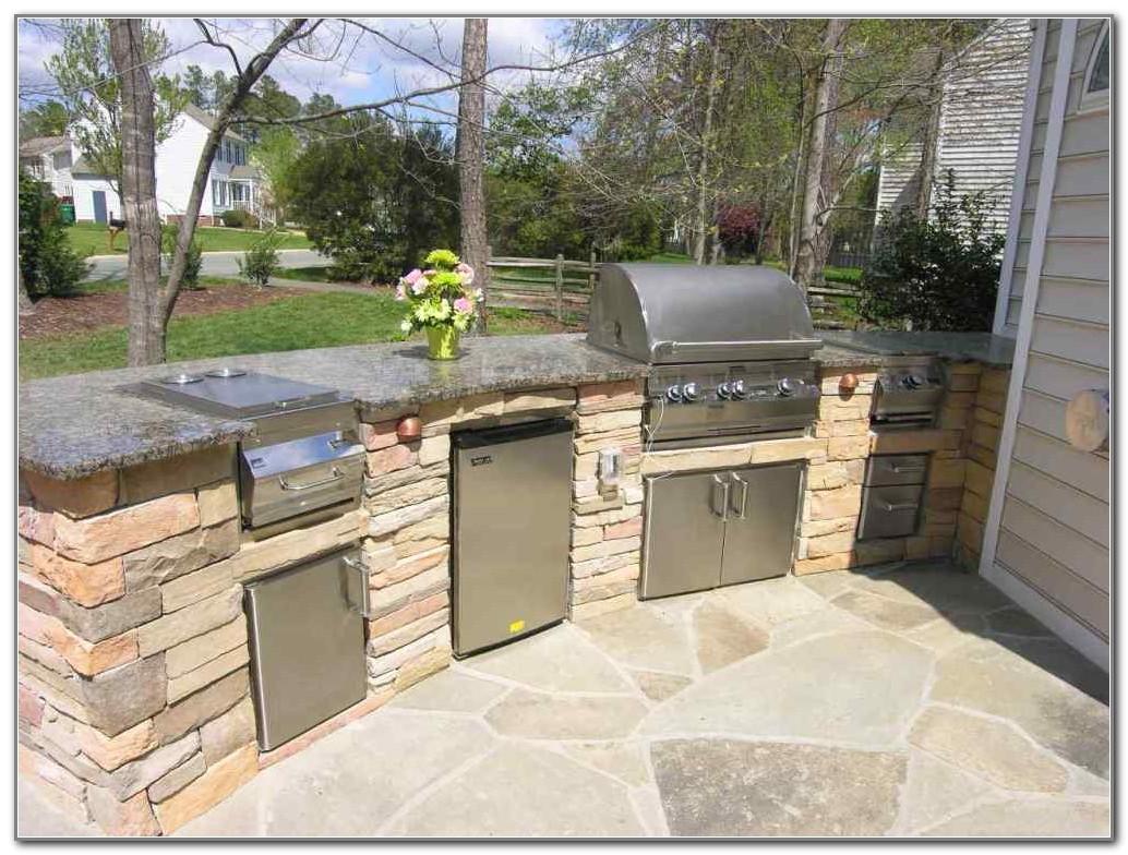 outdoor kitchen bbq plans