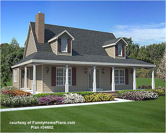 house plans with porch all around