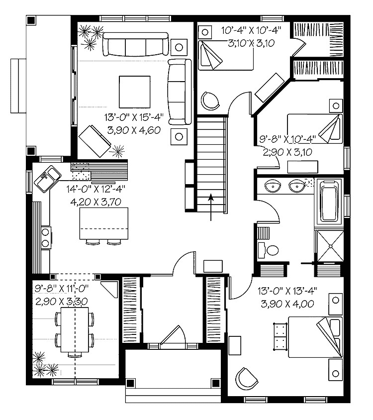 House Plans with Price Estimate Floor Plans and Cost to Build Homes Floor Plans