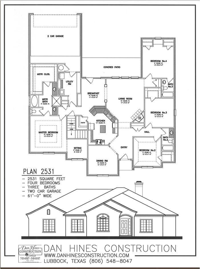rear entry garage house plans