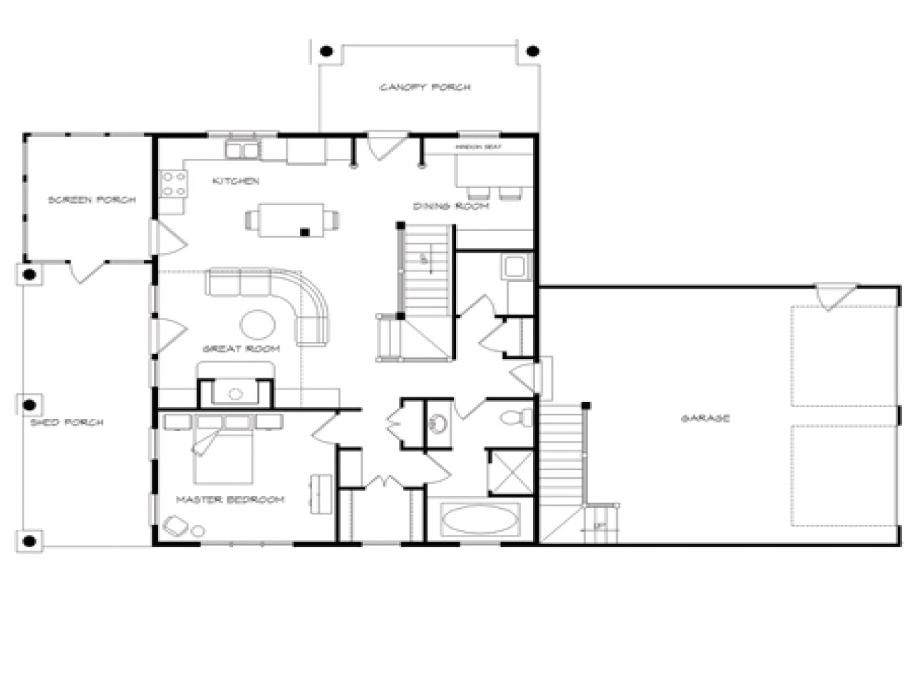 House Plans with Wrap Around Porch and Open Floor Plan Log Home Plans with Open Floor Plans Log Home Plans with