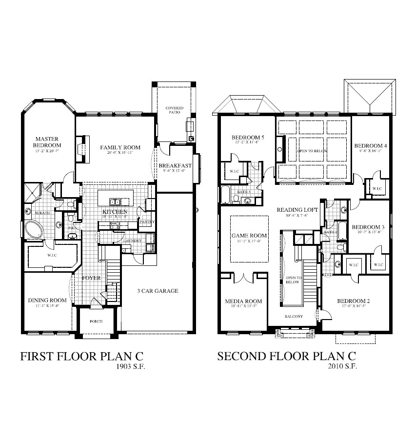 Houston Home Builders Floor Plans Plan 3910 Saratoga Homes Houston
