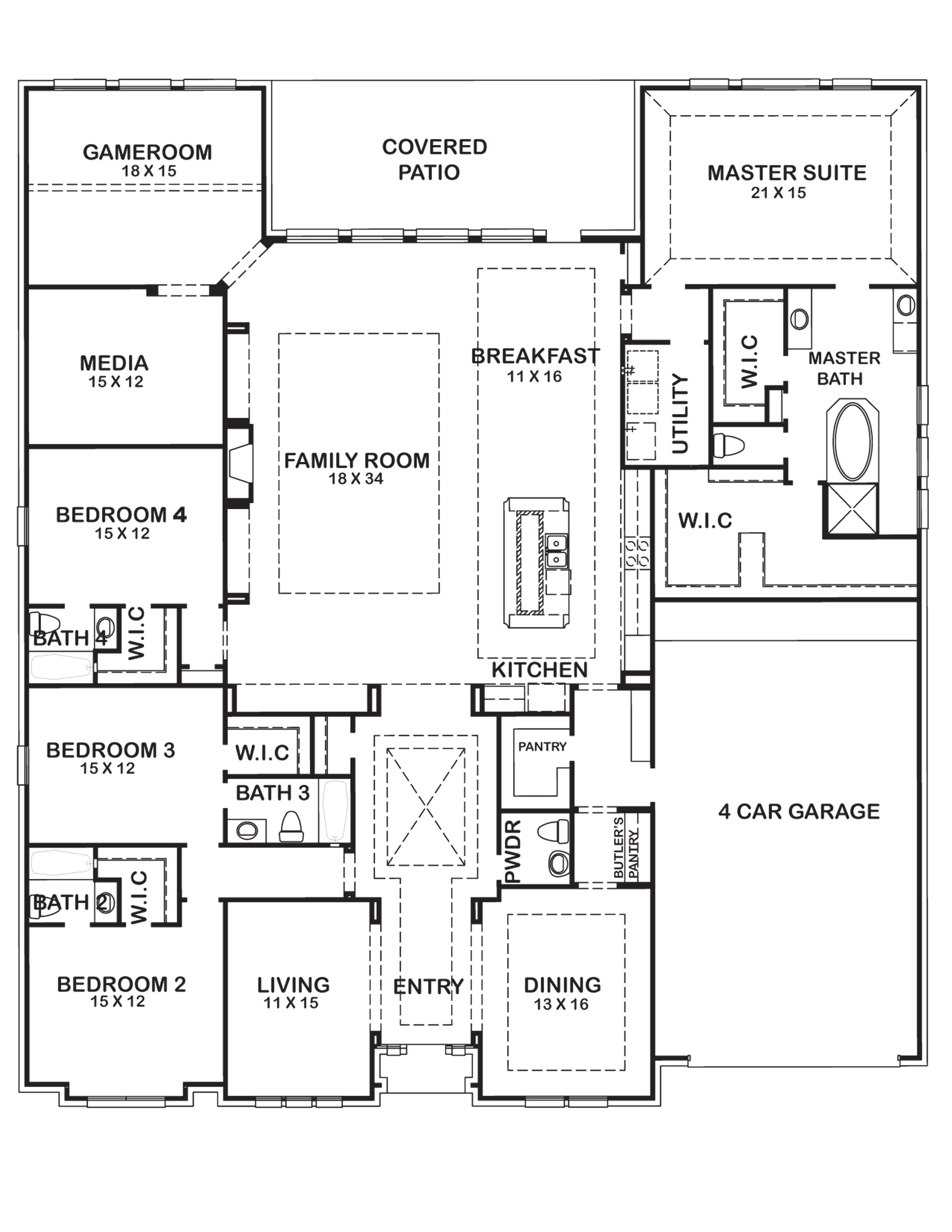 Houston Home Plans