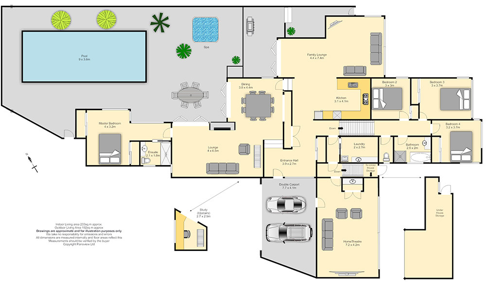 big house floor plan designs plans 40