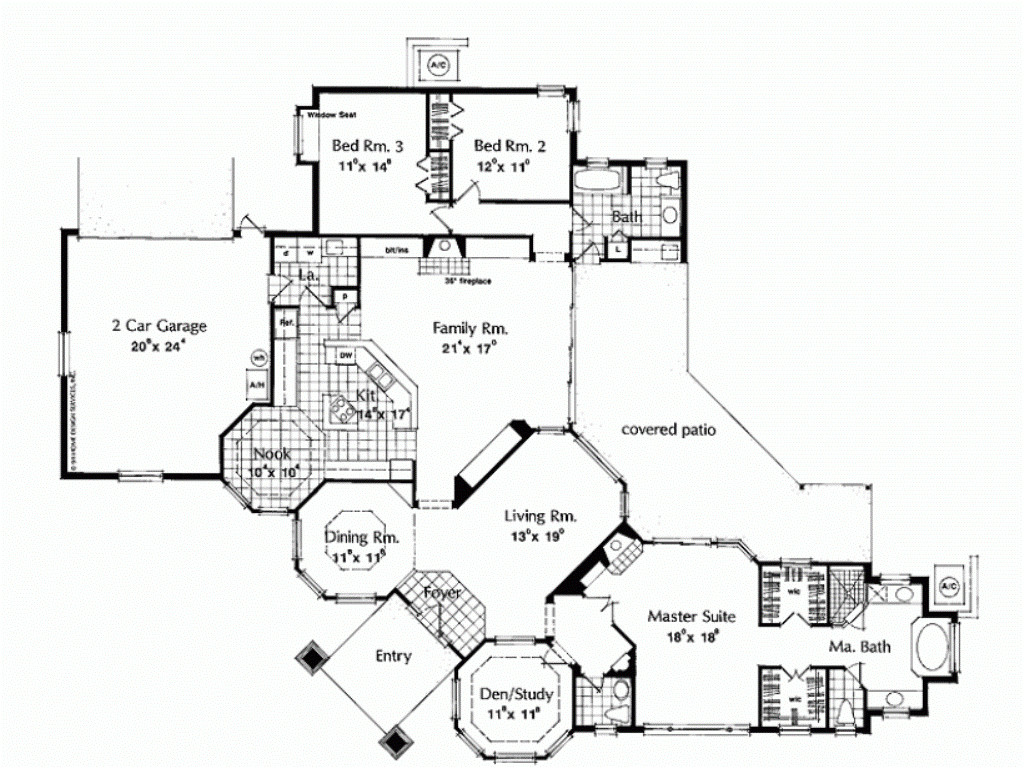 large modern house plans ideas