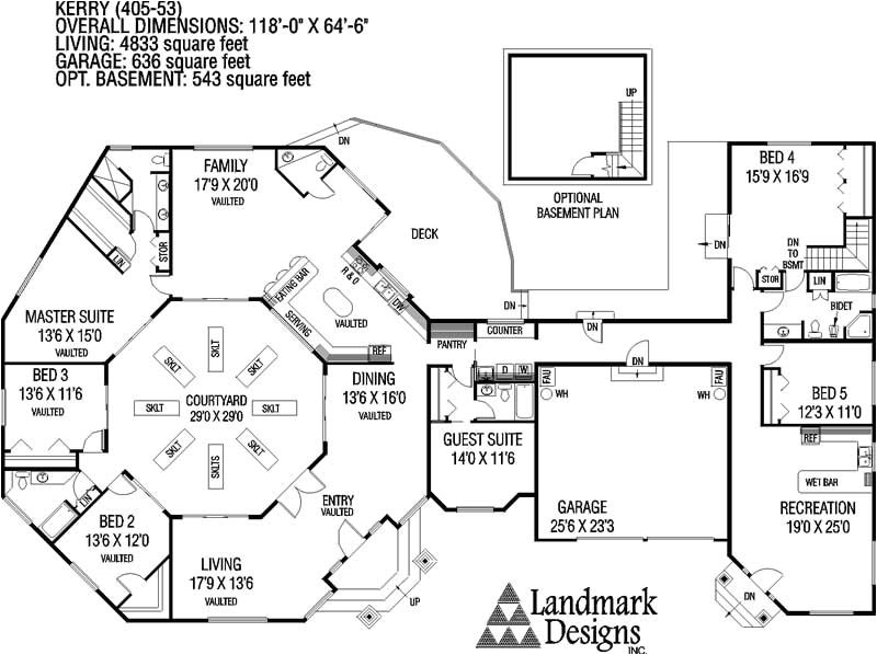 large ranch house plans inspiration