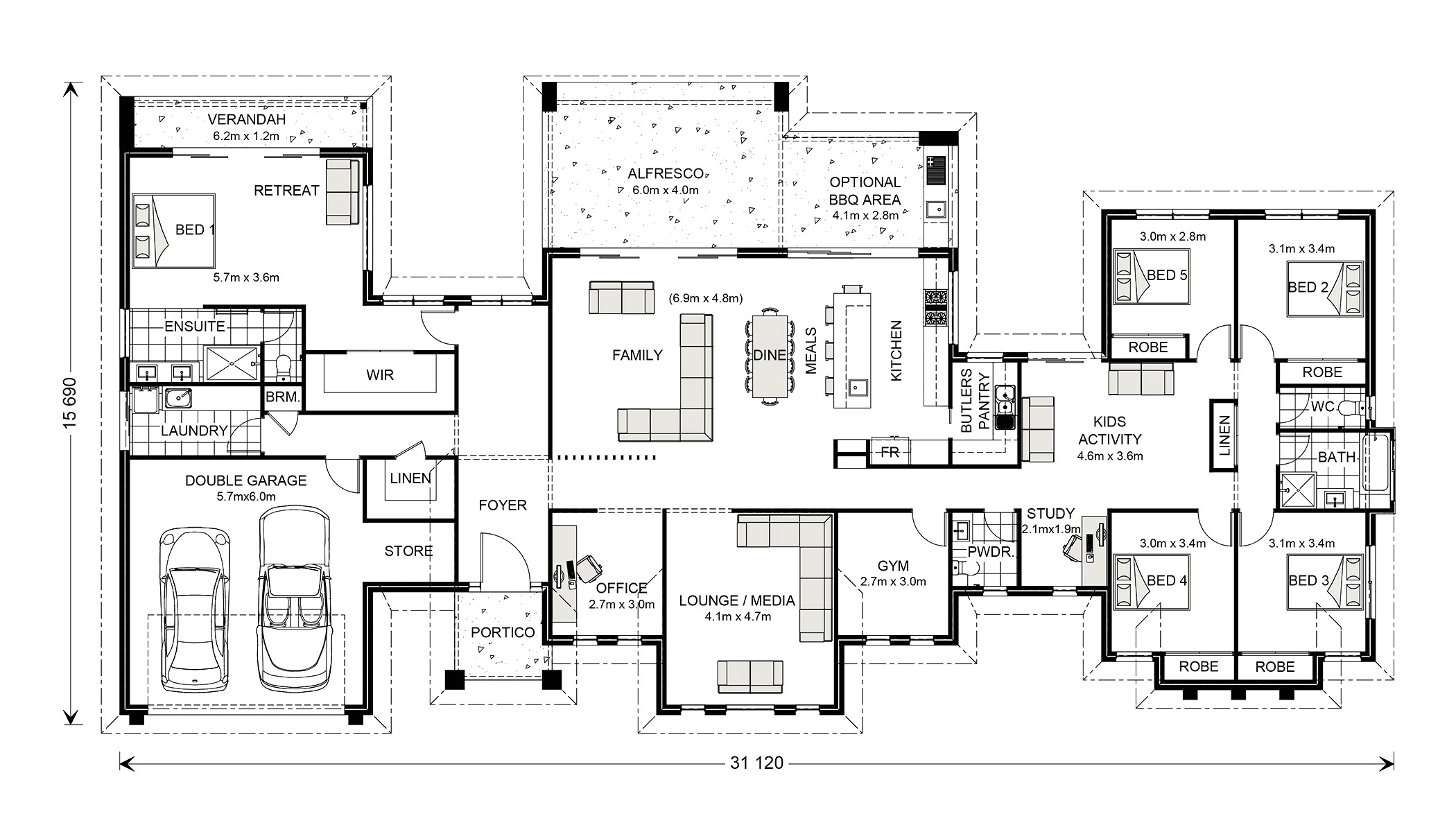 gj gardner homes floor plans