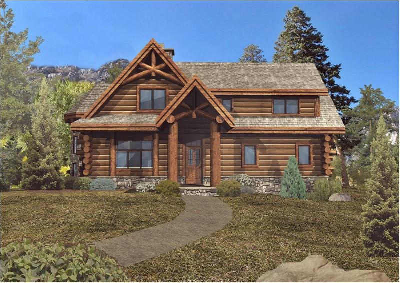 log home timber frame hybrid floor plans wisconsin 190668