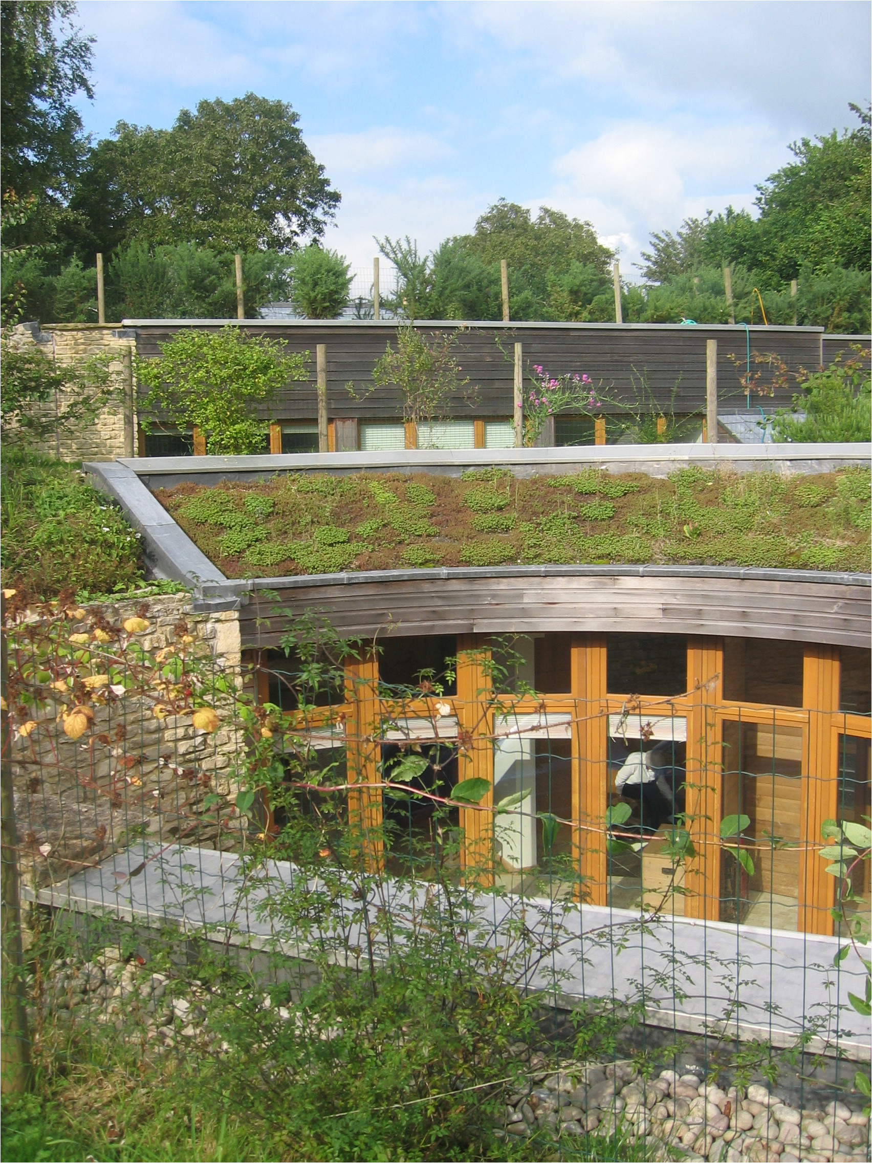 In Ground Homes Plans Aecb Visit An Earth Sheltered House In the Cotswolds
