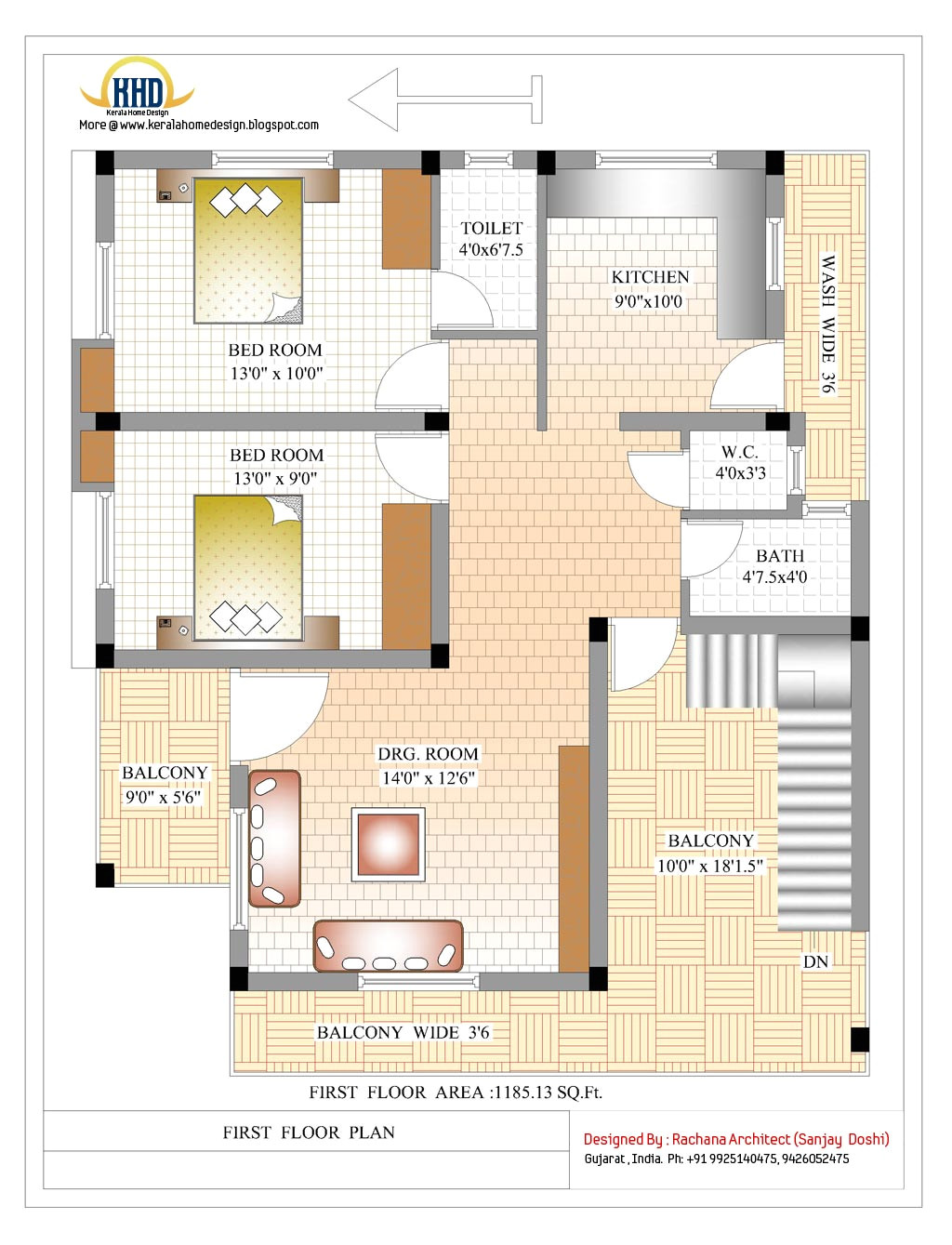 2370 sqft indian style home deisgn more
