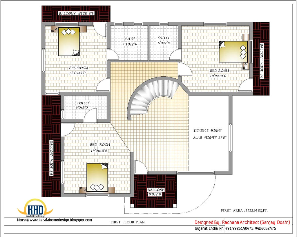 india home design with house plans 3200