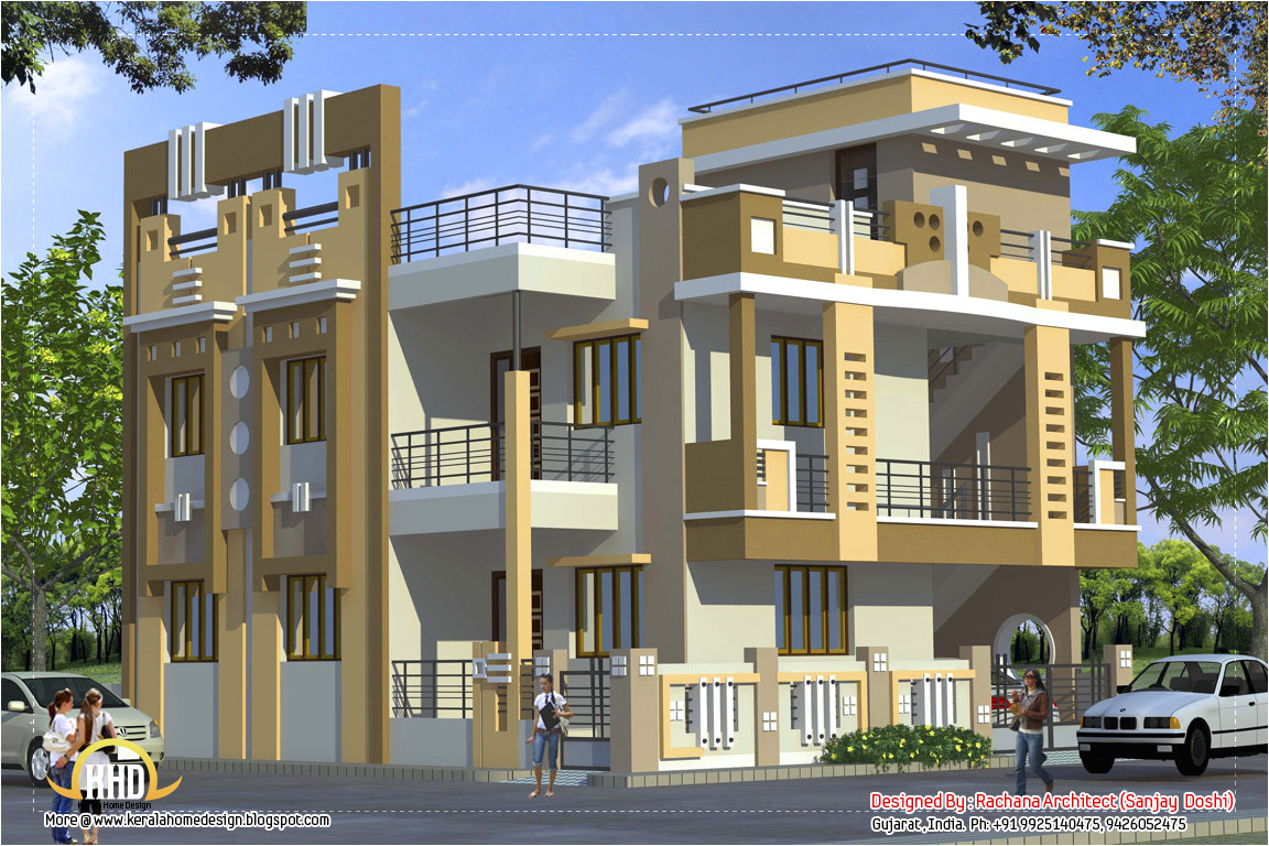 2370 sqft indian style home deisgn