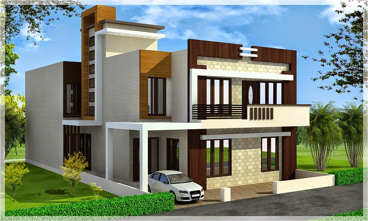 triplex house plans india