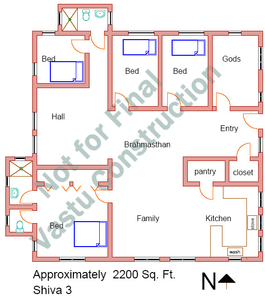 home vastu design