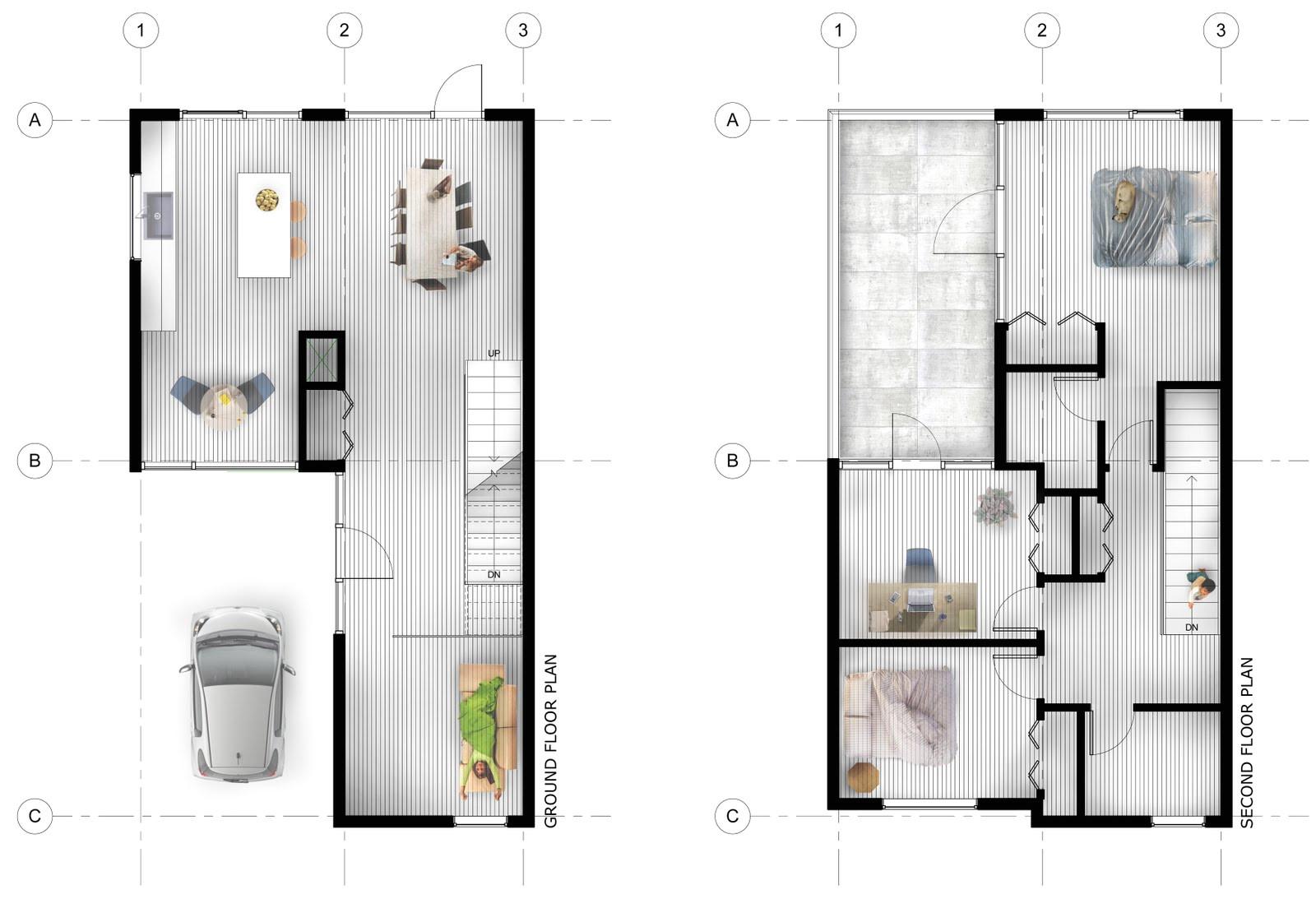 17 stunning urban infill house plans