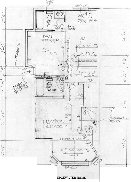 calgary infill home plans
