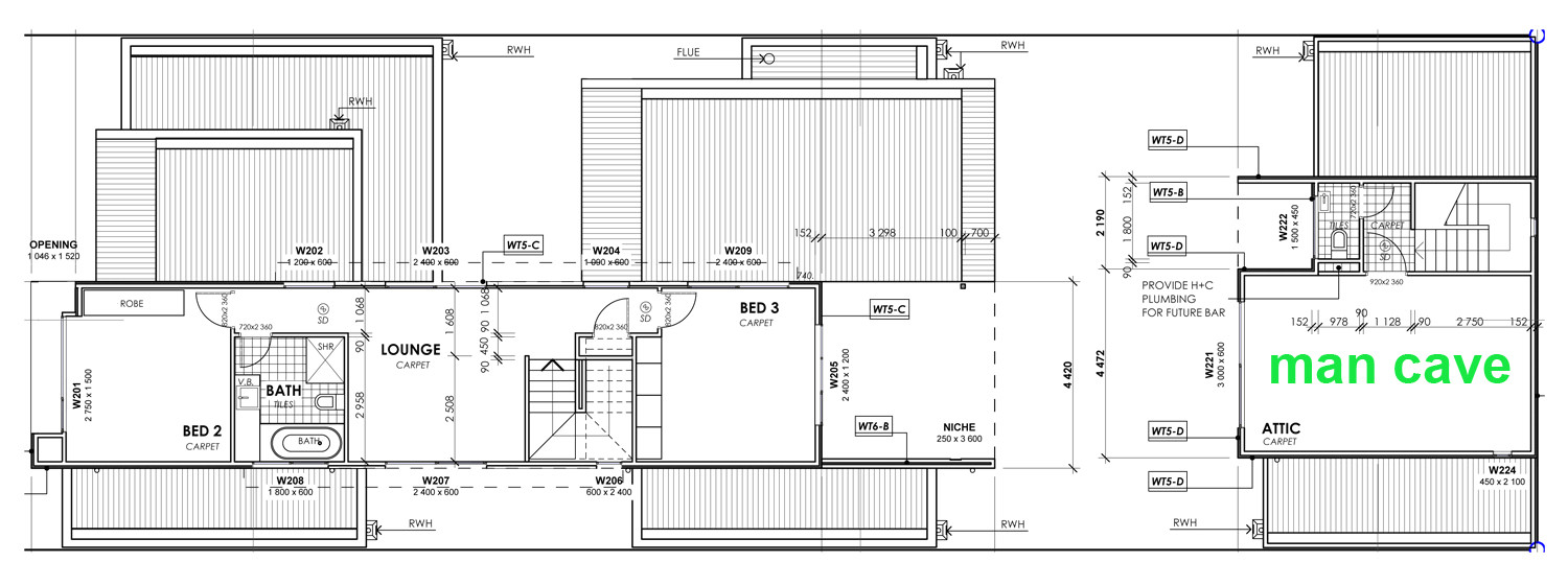insulated concrete form house plans