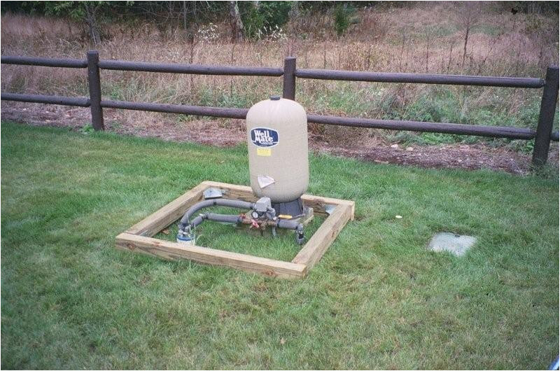 can build pump house well cap housing any shape