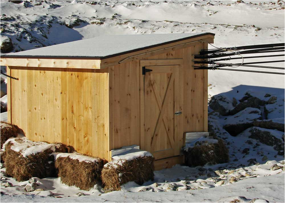 insulated shed plans