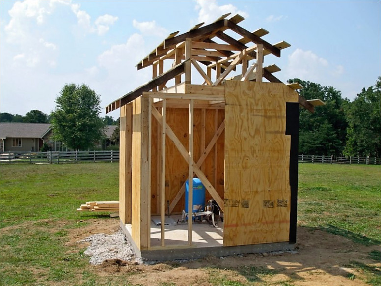 well pump double carpentry designed new house house plans 53 insulated pump house plans