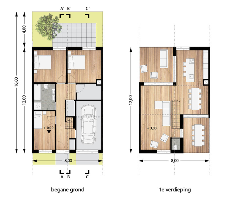 inverted floor plan house plans