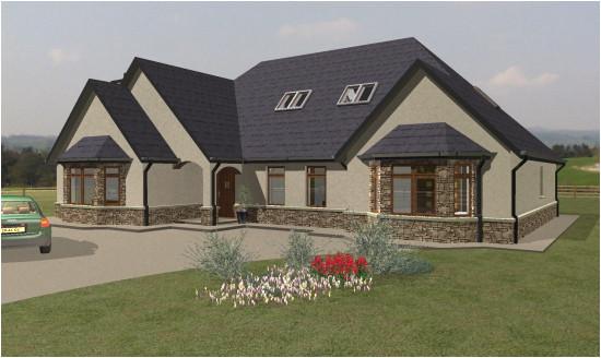 large bungalow house plans ireland