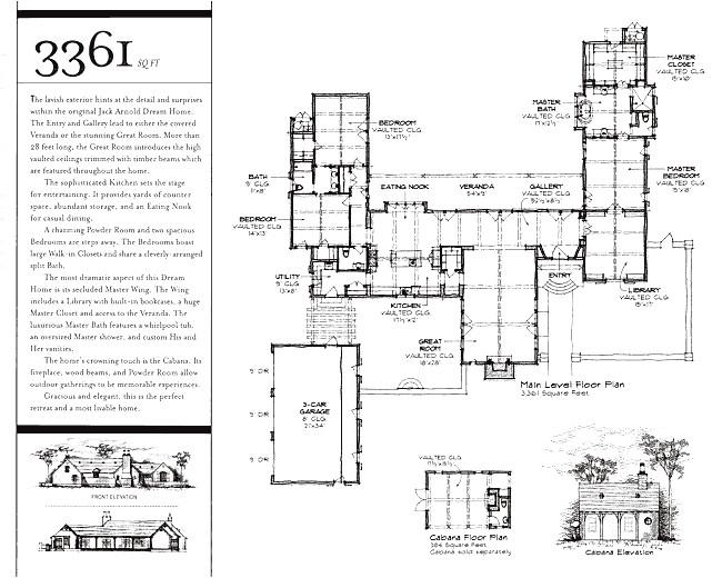 jack arnold dream home plan