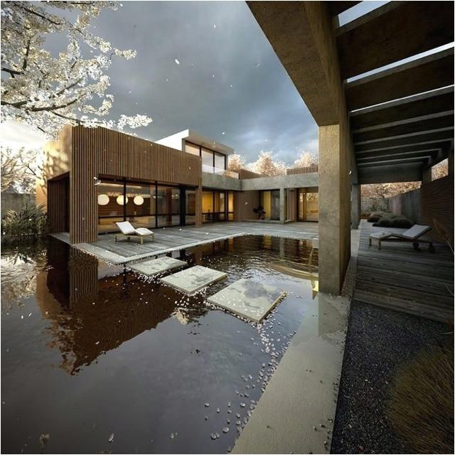 27 calm japanese inspired courtyard ideas
