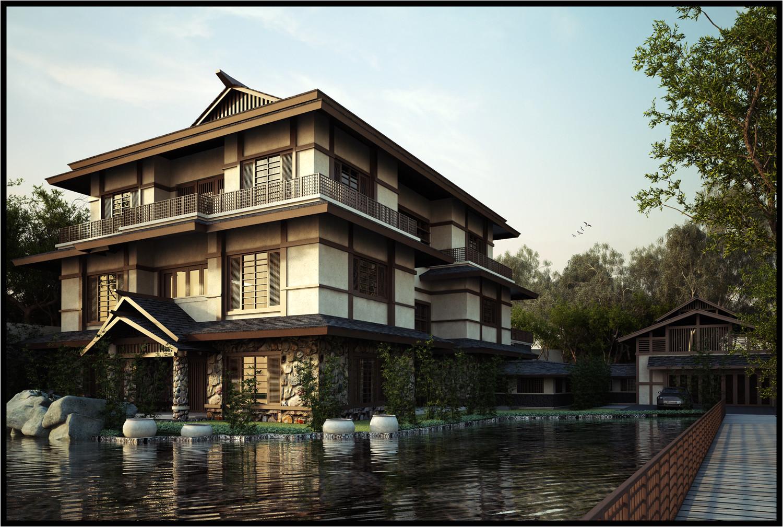 designing japanese style house