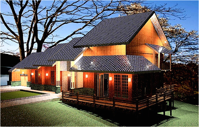 japanese house floor plan