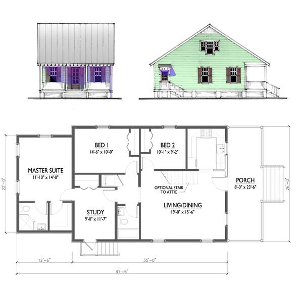 cd the katrina cottage model 1185 301615224