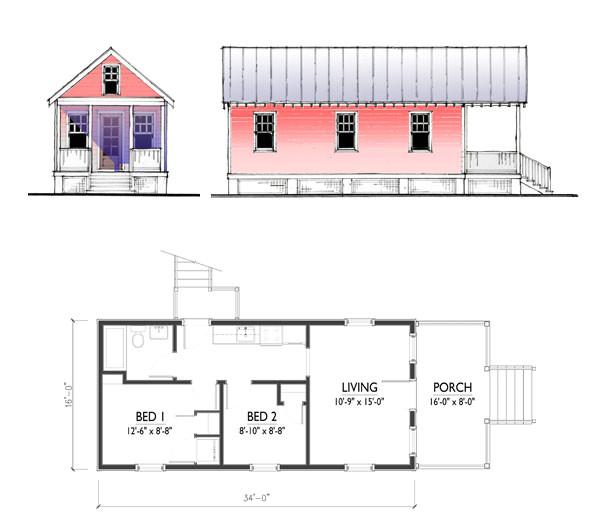 cd the katrina cottage model 544 464914785