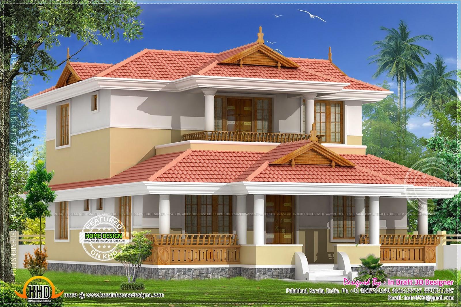 kerala small home plans free fresh beautiful 4 bedroom villa in 2015 square feet