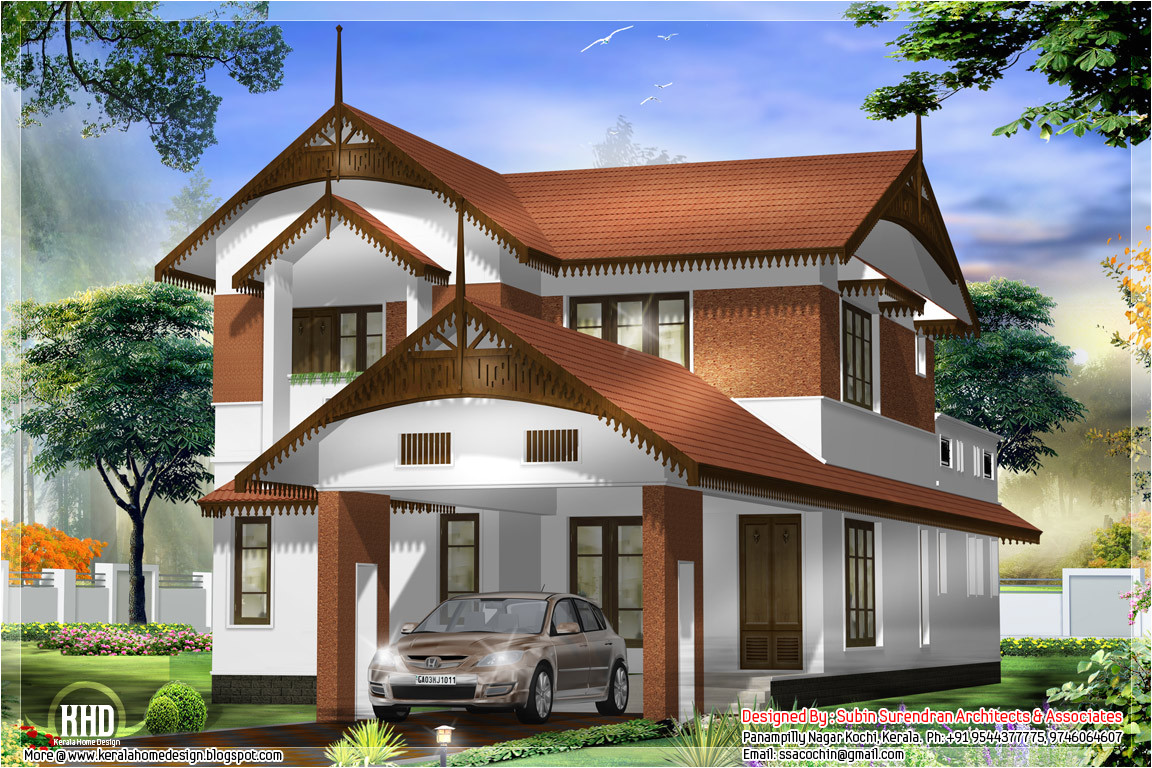 awesome kerala style home design