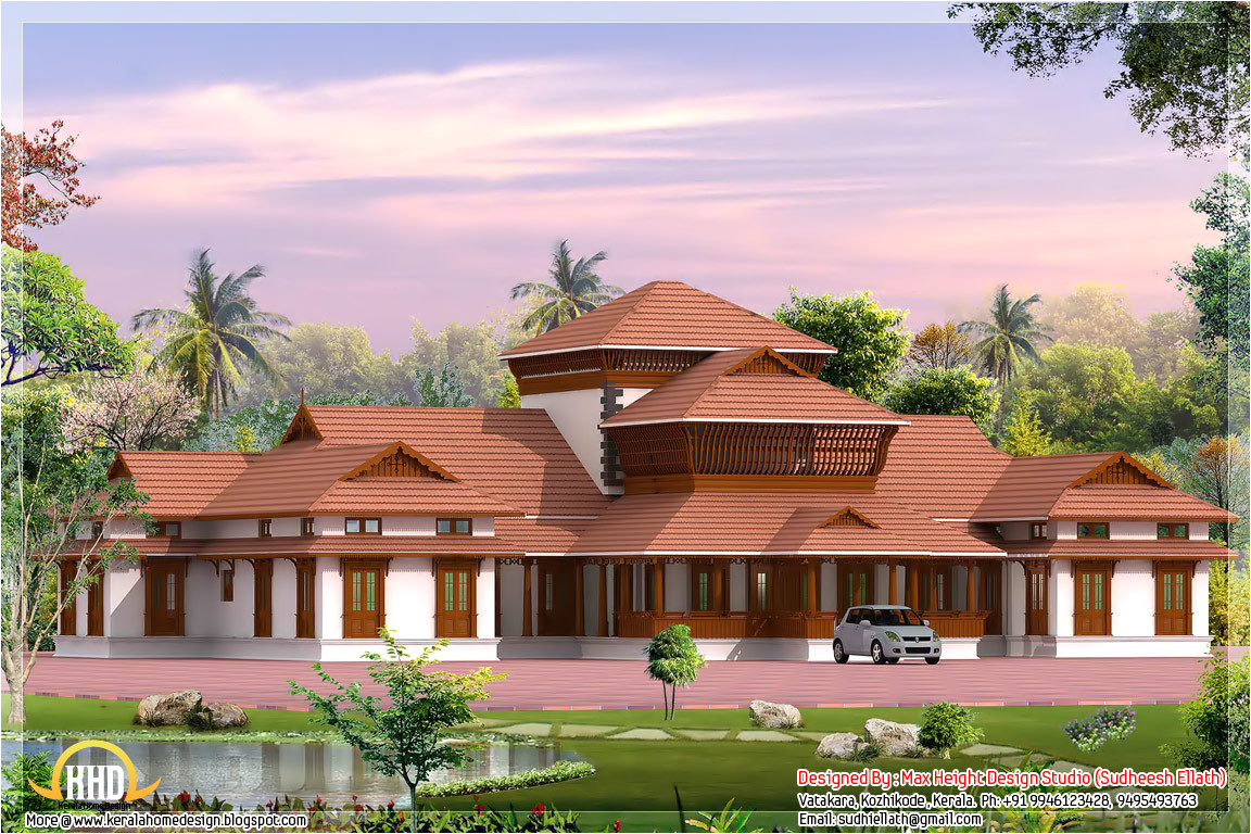 traditional kerala style house designs