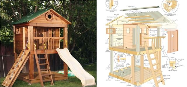 amazing kids playhouse plans free