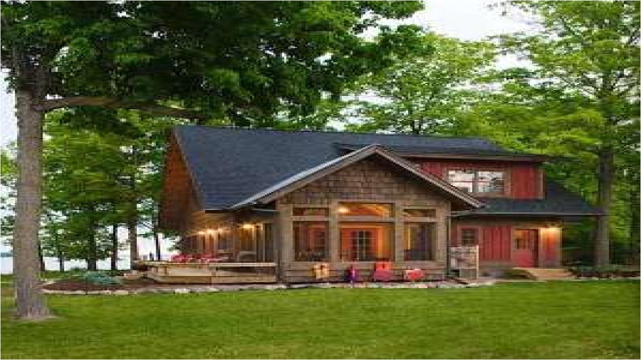 cottage style lake house plans