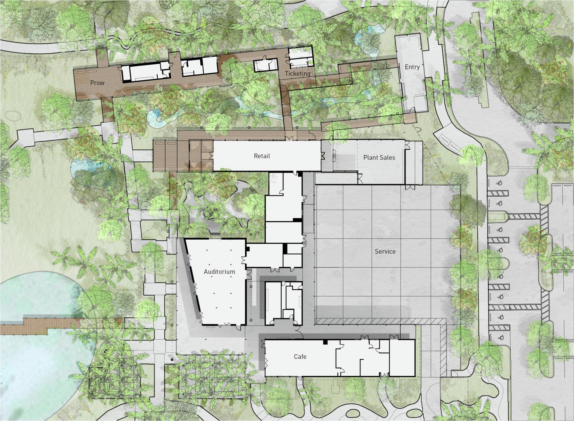 56021c07e58ece38c10000ca naples botanical garden visitor center lake flato architects floor plan