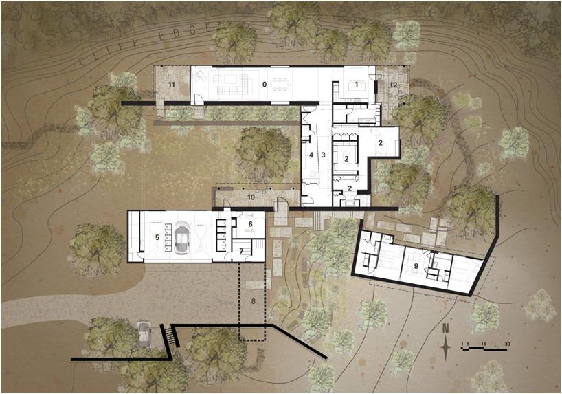 Lake Flato House Plans Lake Flato Architects Desert House In Santa Fe