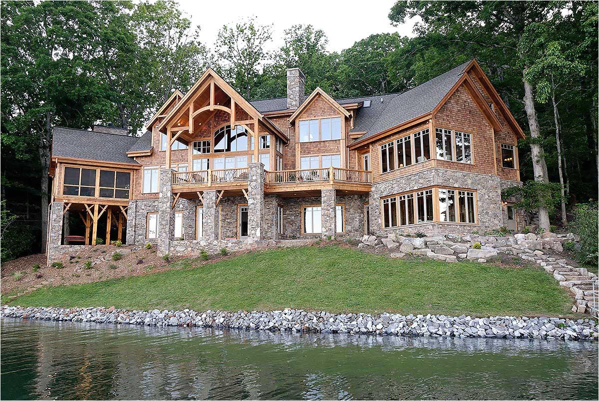 luxury lakefront home floor plans