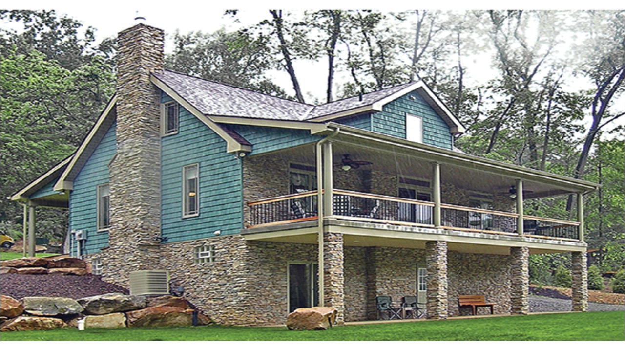 1f331499c84134cc lake house plans lakefront house plans with walkout basement