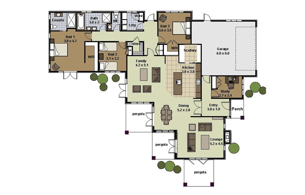 landmark homes floor plans